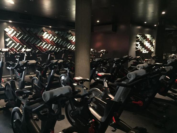 Another_Space Gym Class Cycle 45 London Covent Garden Spin Workout Exercise Bikes