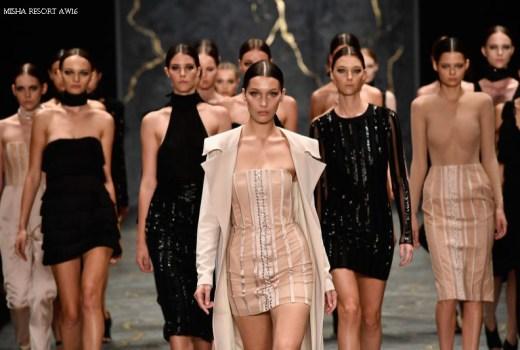 Misha Resort 2016 Caucasian White Fashion Models Runway Fall Autumn 2016