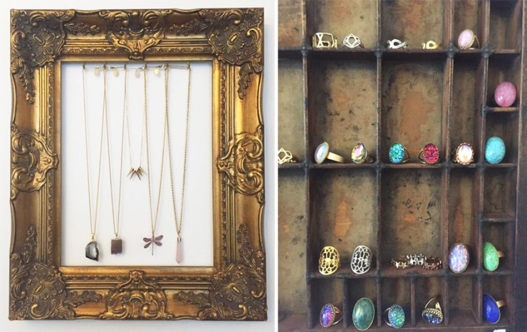 Zara Taylor Jewellery Frame Necklaces Vintage