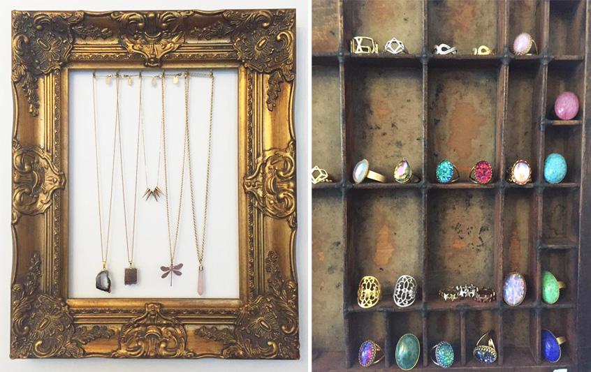 Zara Taylor Jewellery Frame Necklaces Vintage