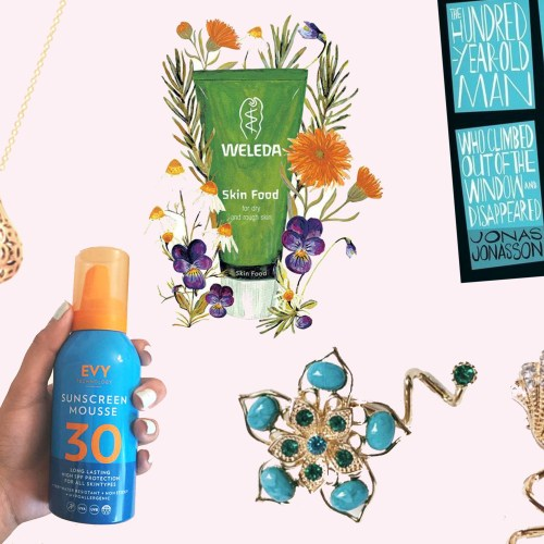 July Favourites Flo Perfume Jewellery Evy Sun Mousee Book Weleda Skin Food Beauty Lifestyle Irals Accessories