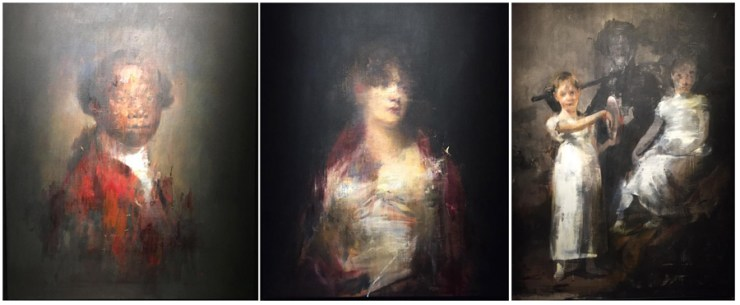 Jake Wood Evans Painting Art Exhibition Soho London Unit Gallery Press Night