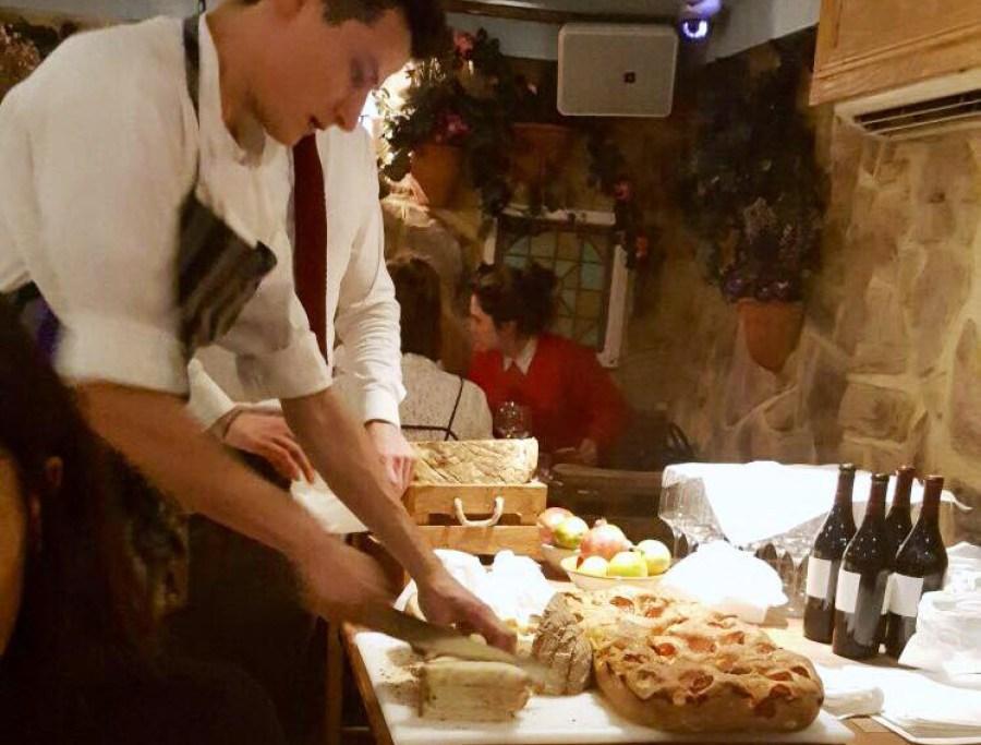 bungatini-italian-restaurant-focaccia-bread-dinner-covent-garden-drury-lane-london-food