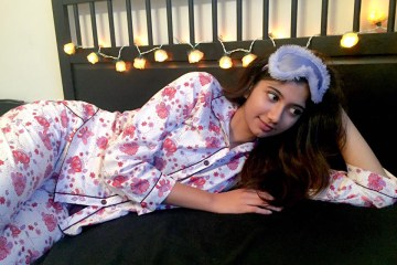 cyberjammies-pyjama-floral-cotton-sleep-bed-night-eyemask