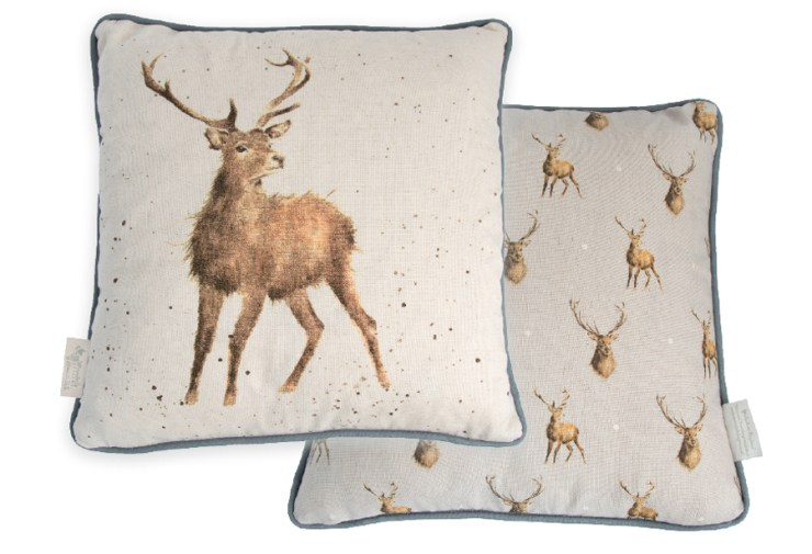 Wrendale Designs Stag Deer Cushion