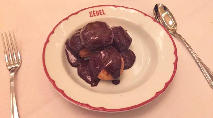 zedel-french-restaurant-food-london-picadilly-circus-dessert-profiteroles