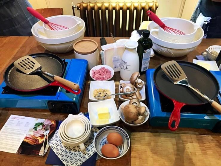 Pancake Day Ingredients Food 52 Cookery School Old Street London Sainsburys Recipe Candice Brown British Bake Off Winner