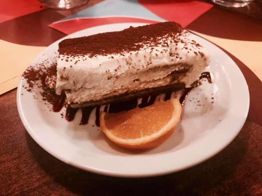 Quartieri Restaurant Kilburn Italian Italy Menu Launch Food Dessert Tiramisu Bloggers Press Night