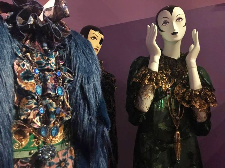 Anna Sui Fashion Textiles Museum Gowns