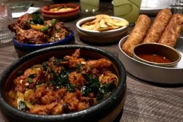 Hoppers London Restaurant St Christopher's Place Sri Lankan Food Chef Starters