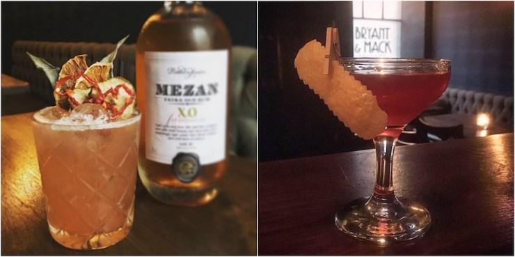 Bryant and Mack Speakeasy Bar Cocktail Drinks Edinburgh Scotland Travel