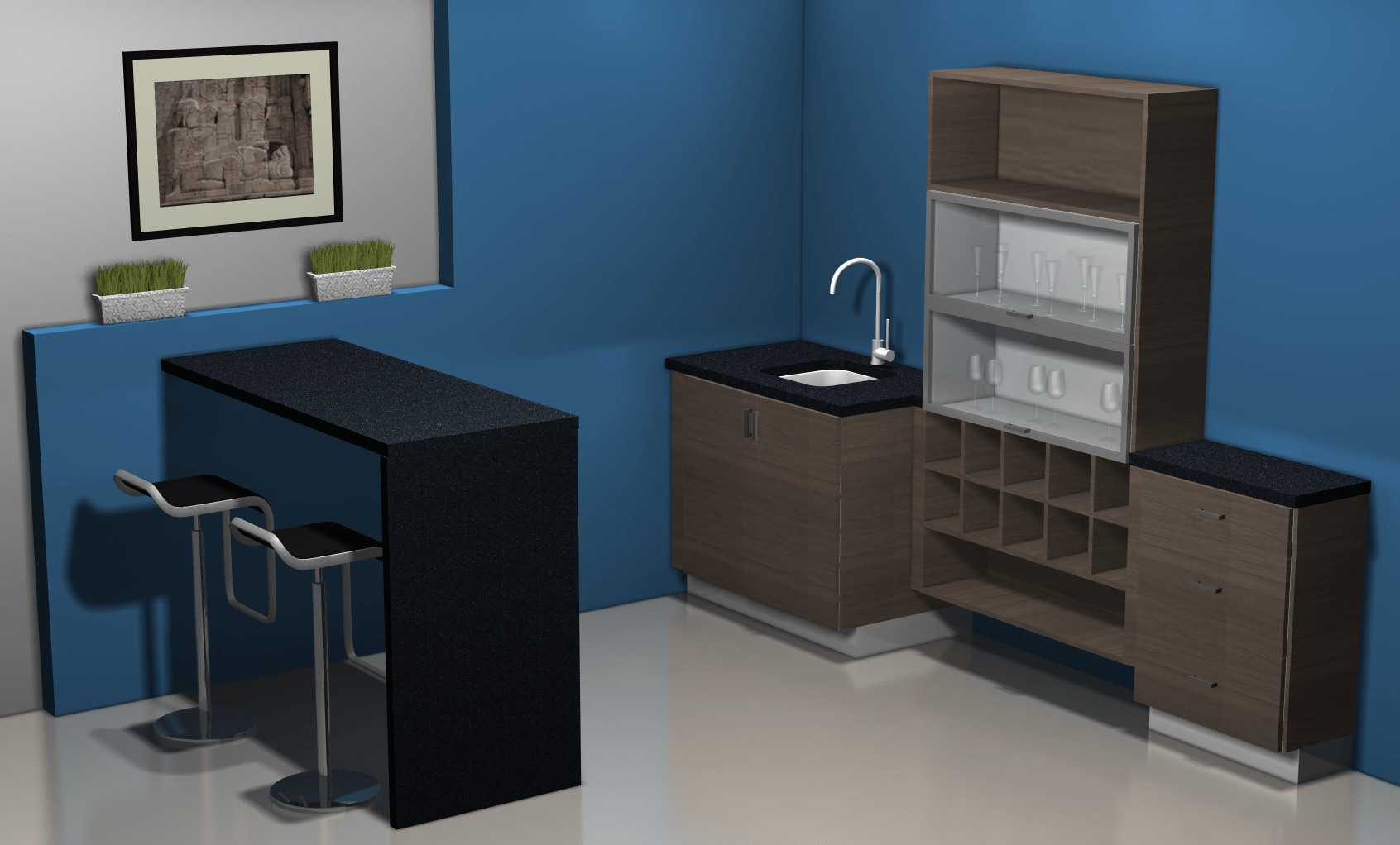 ikea kitchen bar corner sinks for design ideas a area with cabinets