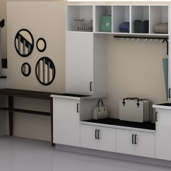 Small Kitchen Solutions Ikea Farmhouse Sink Storage An Mudroom