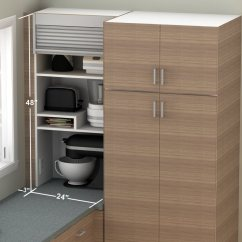 Ikea Corner Kitchen Cabinet Franke Sinks Catalogue How To Hide Smaller Appliances In Your