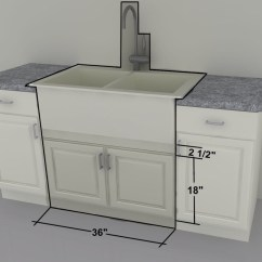 Sink Cabinet Kitchen How To Clean Grease From Cabinets Ikea Custom 36 Quot Farm Or Gas Cooktop Units