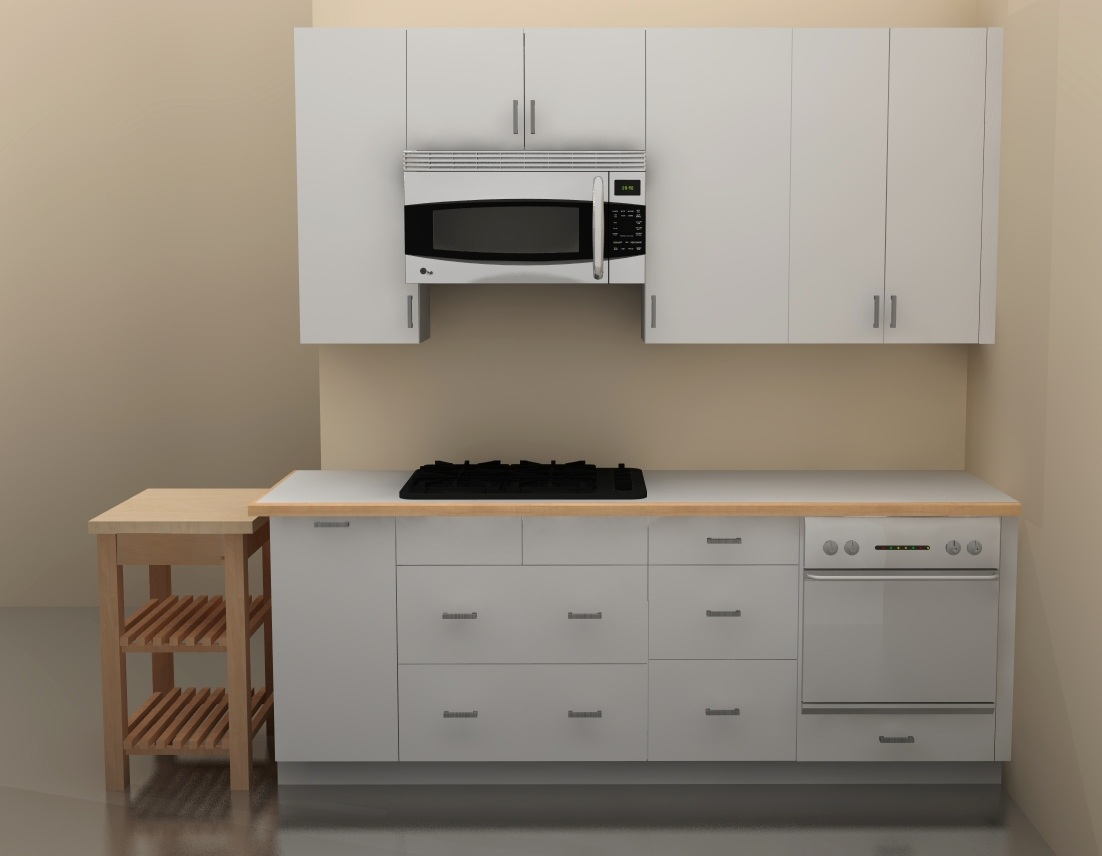 ikea kitchen countertop america's test knives upgrading to an galley