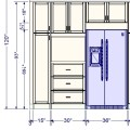 Assistance with custom units for your ikea kitchen contact us today