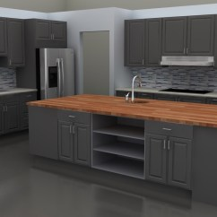 Gray Cabinets Kitchen Craftsman Hardware Stylish Lidingo Doors For A New Ikea