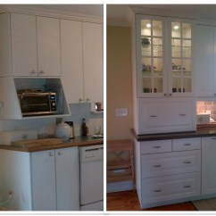 Ikea Kitchen Hutch Vintage Faucet Custom Cabinets For A Family On The Go