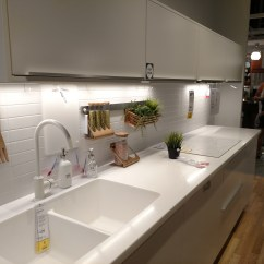 Ikea Kitchen Countertops Big Island The Curious Case Of S Invisible Sink