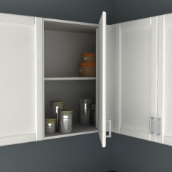 Ikea Corner Kitchen Cabinet Aid Coffee Hack A Blind Wall Perfect For
