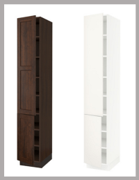 IKEA Kitchen Hack: A Custom Wine Cabinet for a Narrow Space