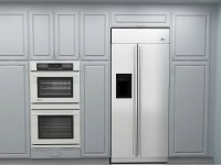Kitchen Fridge Cabinets - Kitchen Design Ideas