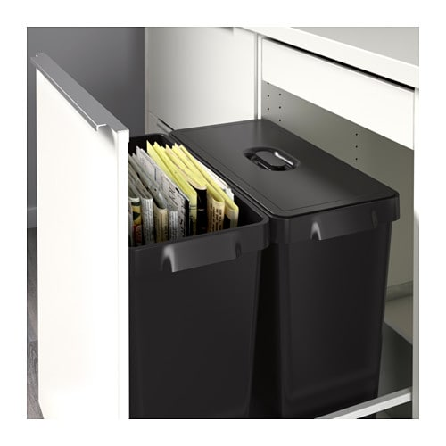 how ikea trash bin cabinets affect your