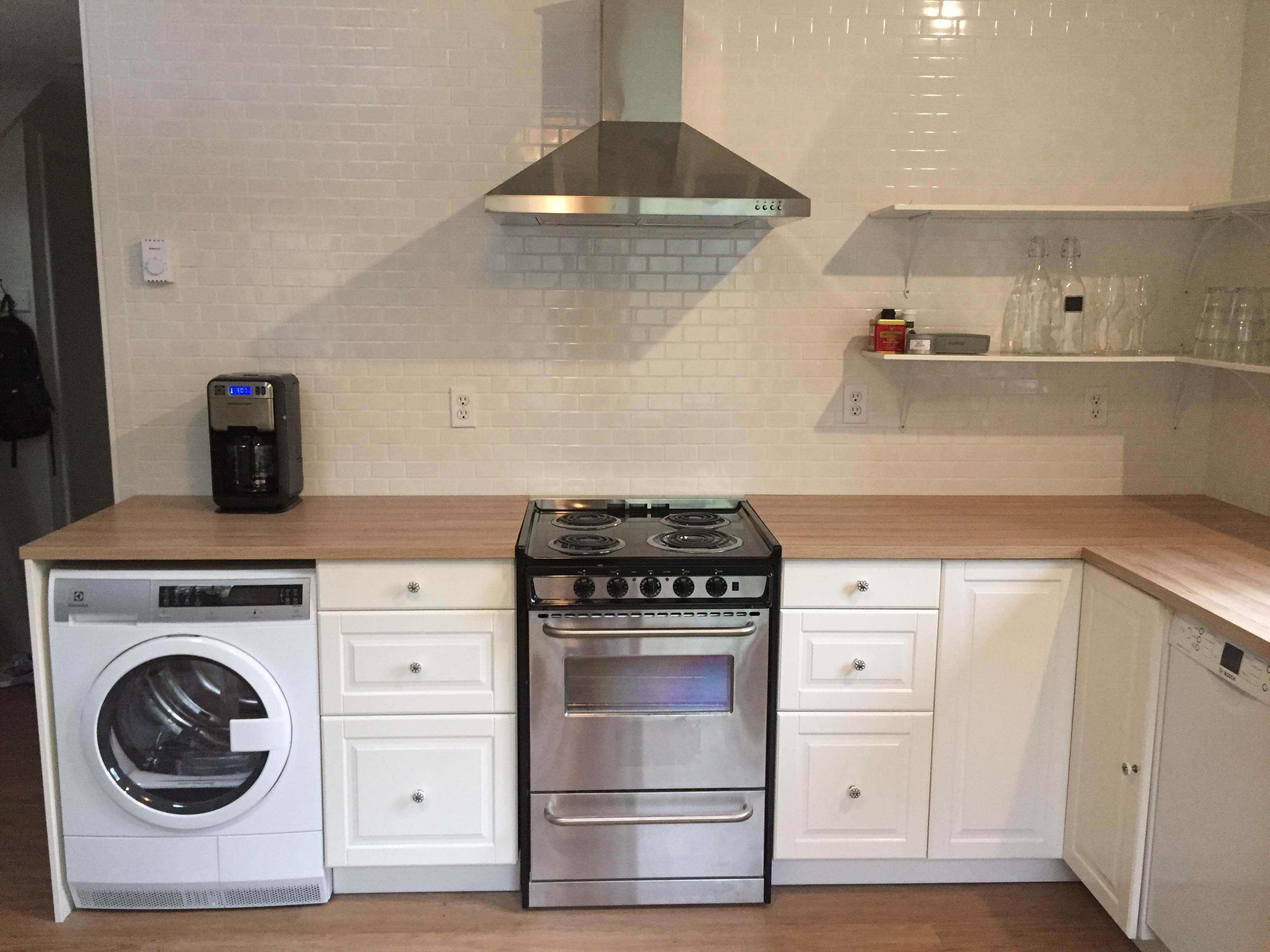 kitchen rental wood and stainless steel island 3 important ikea design lessons from a mountain cabin vacation 8