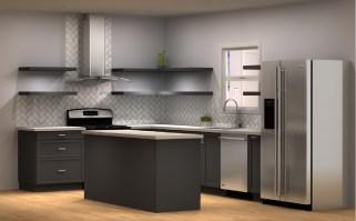 Three IKEA kitchen cabinet designs under $4,000