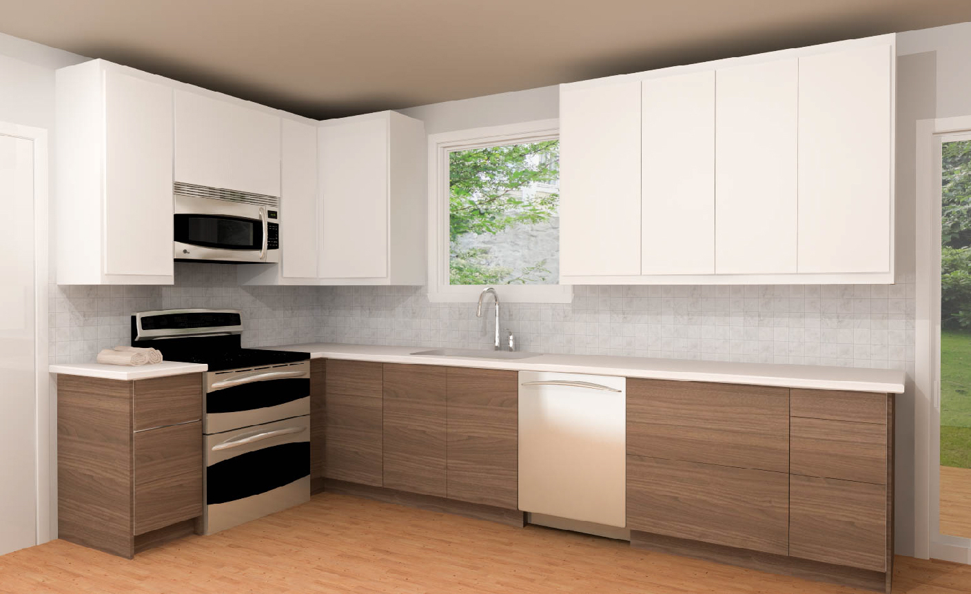 Three IKEA kitchens cabinet designs under 5000 IKEA