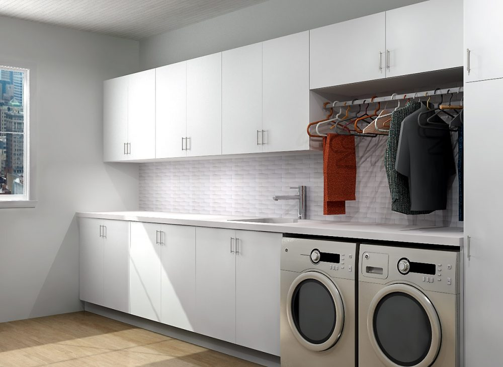 Turn Ikea Cabinetry Into Your Ideal Laundry Space