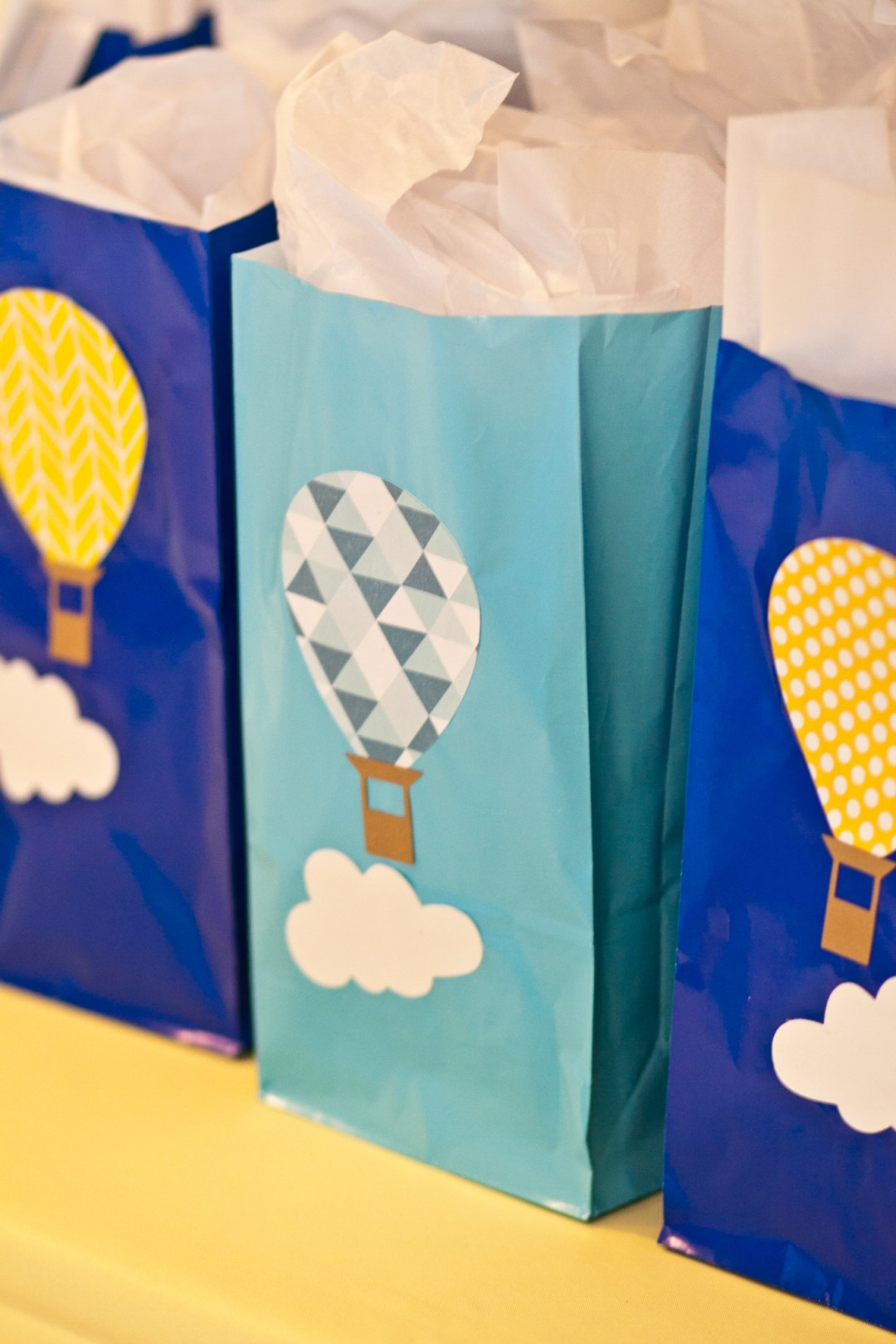 Hot Air Balloon Party- Decorations