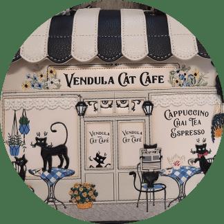 Cat Cafe BW