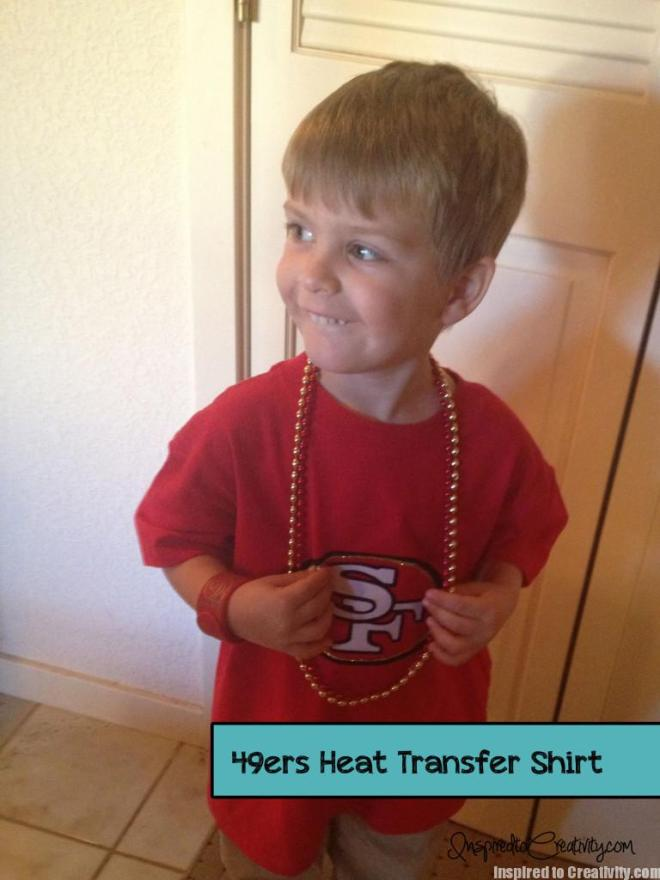 49ers Football Logo Kids Shirt