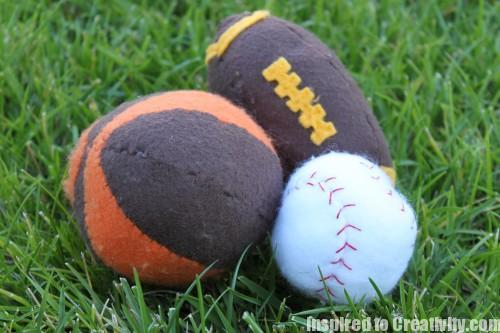 Felt Sports Balls