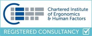 Inspired Usability Limited has been accredited by the Chartered Institute of Ergonomics & Human Factors (CIEHF) as a registered consultancy