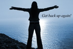 Image result for getting back up images