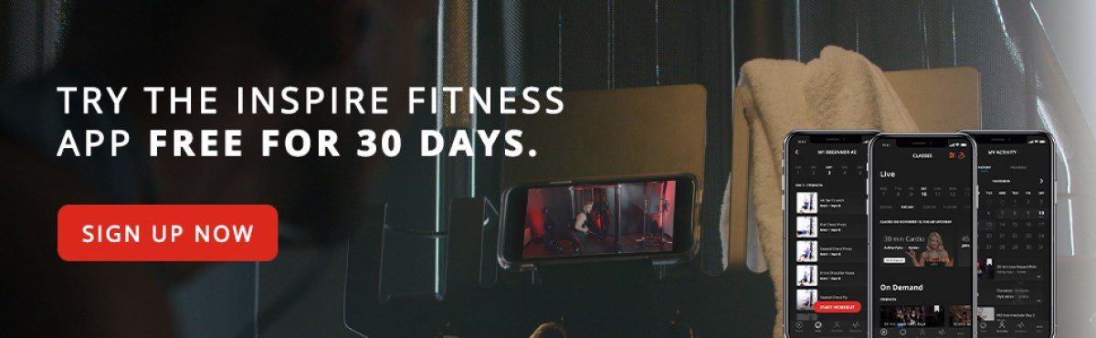 Inspire Fitness App Free For 30 Days