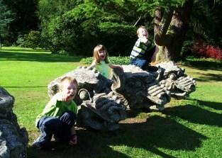 Gargoyles at Wallington