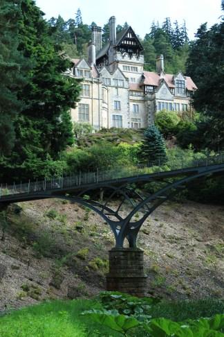 Cragside House and Iron Bridge