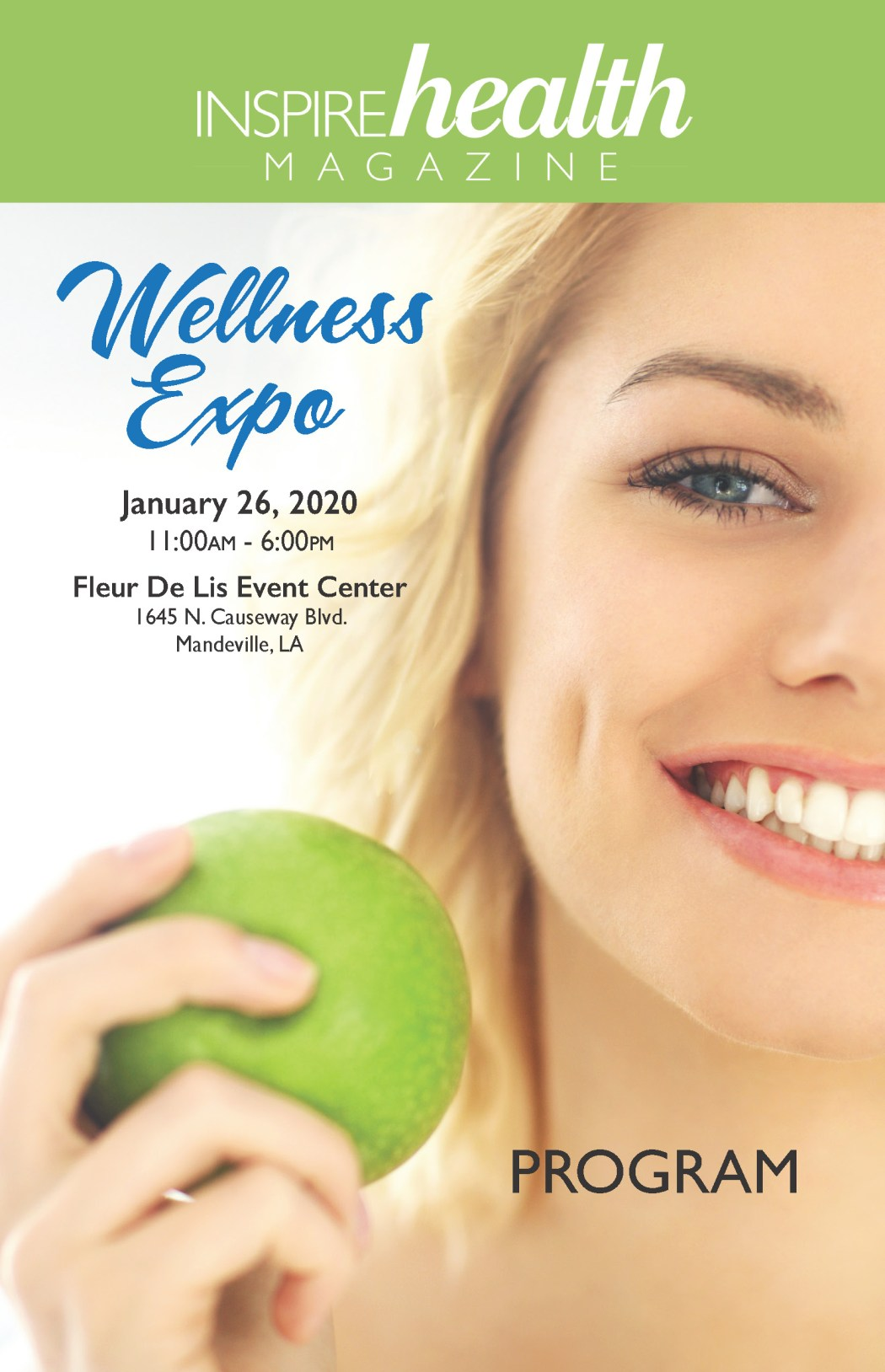 Inspire Health Magazine 2020 Wellness Expo Program