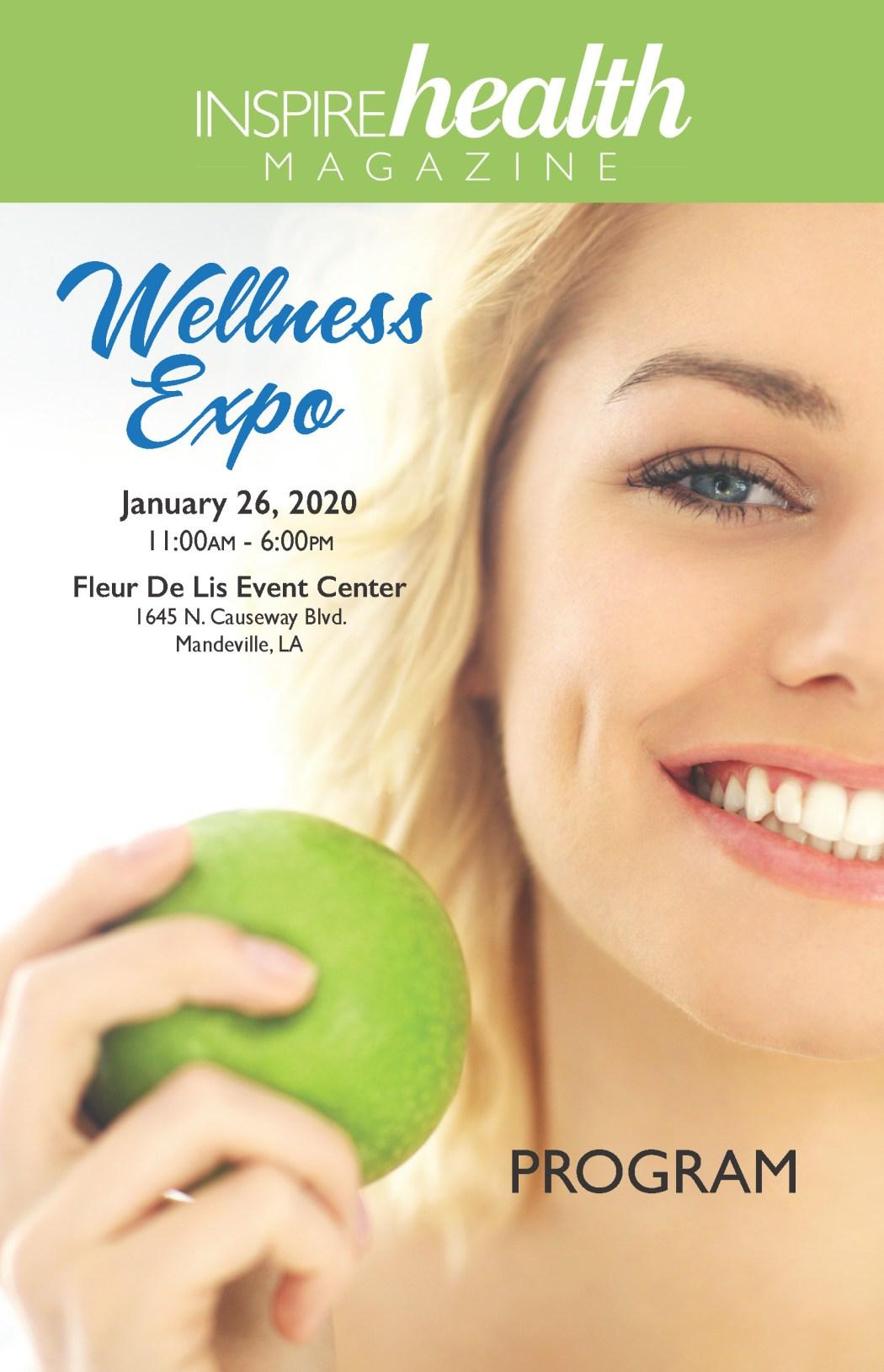 Inspire Health Magazine 2020 Wellness Expo Program
