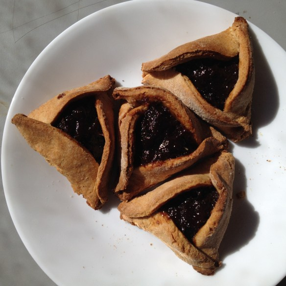 Healthy whole wheat hamantaschen