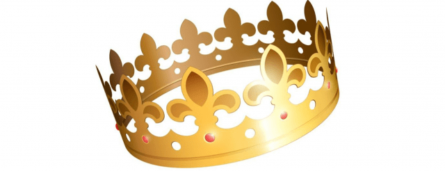Gold crown. Who's your Hector?