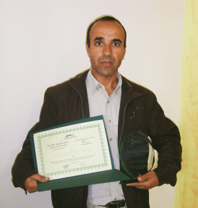 Abderrezak Djerrab Winner of the 2015 Algerian Paper of the Year Awards in Physical Sciences