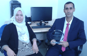 Dr Tahar Abbaz and Dr Amel Bendjeddou
