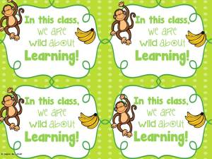 wild about learning freebie