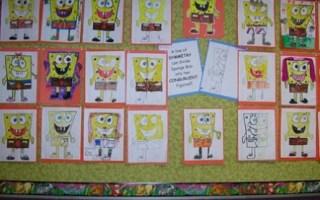 Symmetrical SpongeBob!