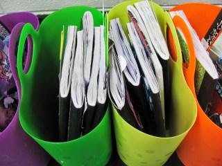 organization of writer's notebooks